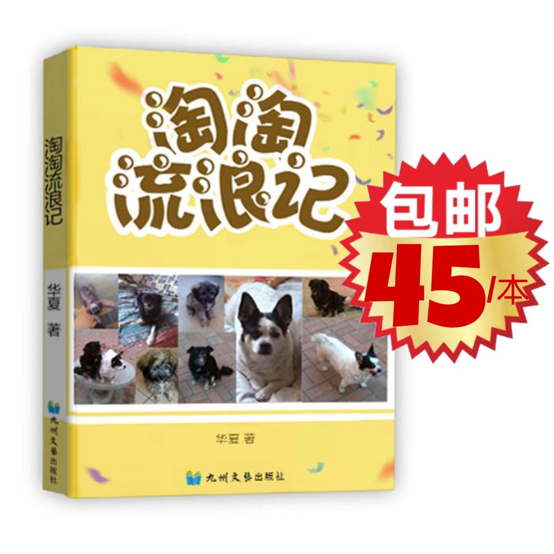 华夏长篇儿童小说《淘淘流浪记》正式出版发行